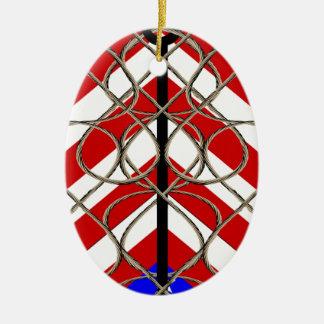 American Anchor Christmas Ornament