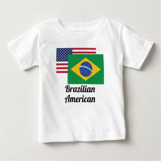 American And Brazilian Flag Baby T-Shirt