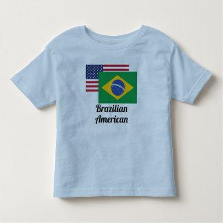 American And Brazilian Flag Toddler T-Shirt