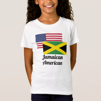 American And Jamaican Flag T-Shirt