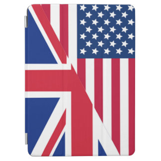 American and Union Jack Flag iPad Air Cover