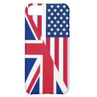 American and Union Jack Flag iPhone 5C Case