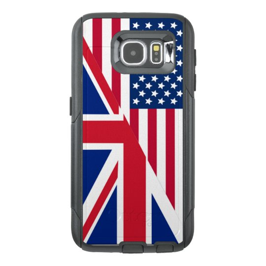 American and Union Jack Flag OtterBox Samsung Galaxy
