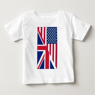 American and Union Jack Flag Tees