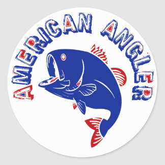 American Angler Stickers