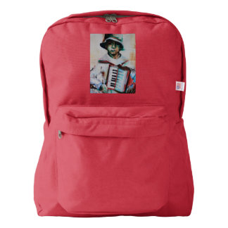 American apparel backpack Accordion
