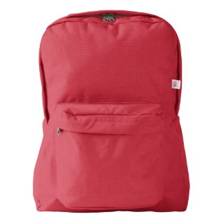 American Apparel™ Backpack, Red