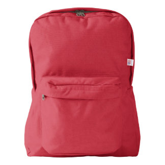 American Apparel™ Backpack, Red Backpack