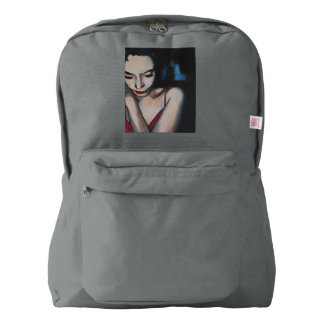 American apparel backpack woman