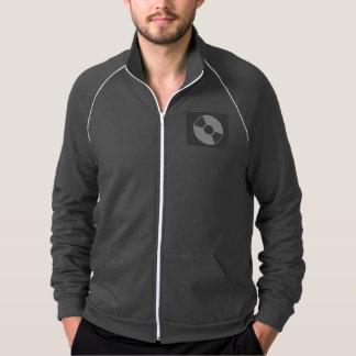 American Apparel California Fleece Track Jacket, A Jacket