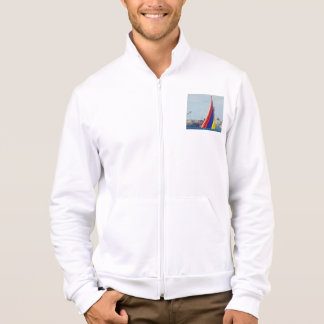 American Apparel California Fleece Zip Jogger Printed Jackets