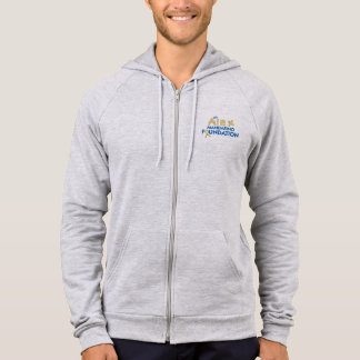 American Apparel Fleece Zip Hoodie