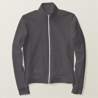 American Apparel Fleece Zip Jogger Jacket - Red