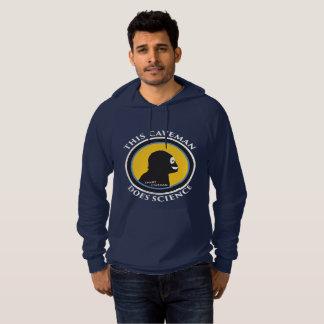 American Apparel Hoodie: Science Smart Caveman Hoodie