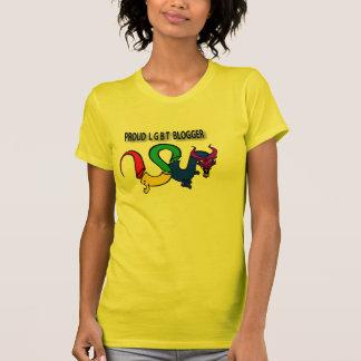 American Apparel Proud LGBT Blogger Tshirts