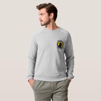 American Apparel Raglan: Read Smart Caveman Sweatshirt