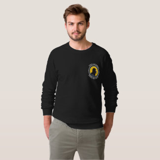 American Apparel Raglan: Science Smart Caveman Sweatshirt