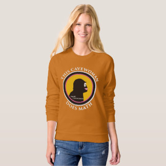 American Apparel Raglan Sweatshirt: Math Smart Cav Sweatshirt