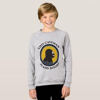 American Apparel Raglan Sweatshirt: Read Smart Cav Sweatshirt