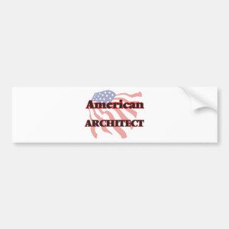 American Architect Bumper Sticker