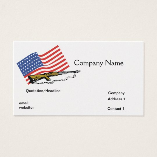 American Arms Business Card