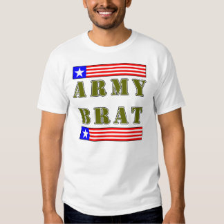American Army Brat (Olive Text) Tee Shirt