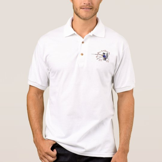 American Artillery Squirrel Polo Shirt