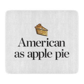 American as Apple Pie Cutting Board