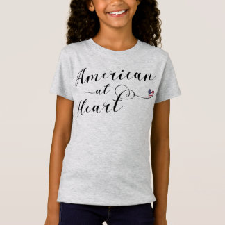 American At Heart Tee Shirt, USA