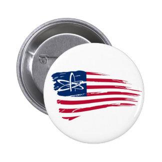 American Atheist 6 Cm Round Badge