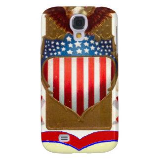 American badge and bald eagle HTC vivid / raider 4G cover