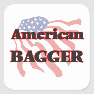 American Bagger Square Sticker