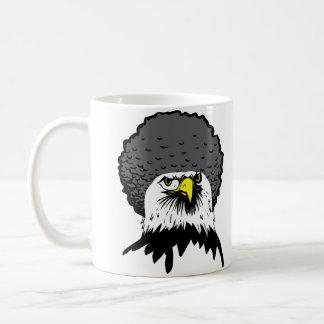 American Bald Eagle Afro Funny Mug Travel Mug