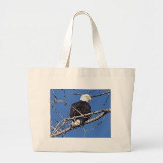 American Bald Eagle Canvas Bags