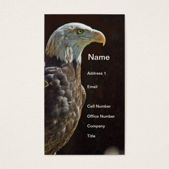 American Bald Eagle Business Card