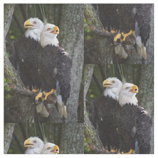 American Bald Eagle Fabric