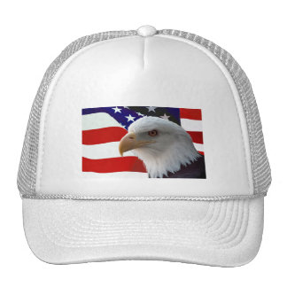American Bald Eagle Mesh Hat