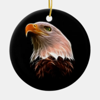 American Bald Eagle Head Christmas Ornament