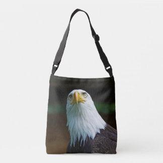 American Bald Eagle Head Crossbody Bag