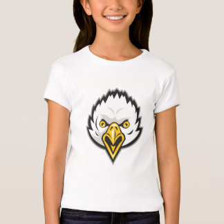 American Bald Eagle Head Screaming Retro T Shirt