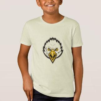 American Bald Eagle Head Screaming Retro Tshirt