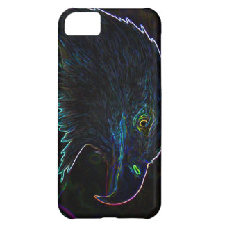 American Bald Eagle in Glowing Edges iPhone 5C Case