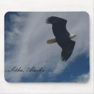 American Bald Eagle in Sitka, Alaska Mouse Mat