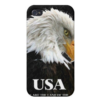 AMERICAN BALD EAGLE iPhone 4/4S CASES