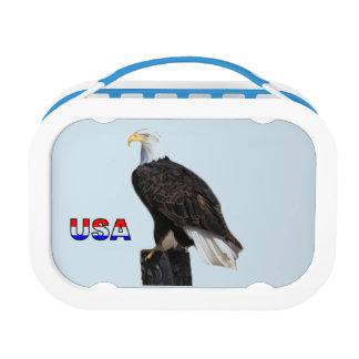 American Bald Eagle Lunch Box