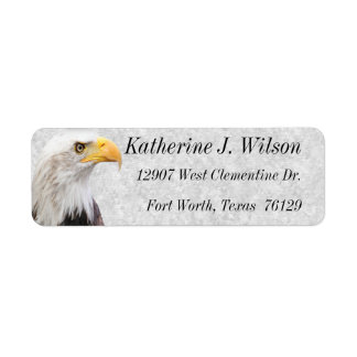 American Bald Eagle Personal Mailing Labels