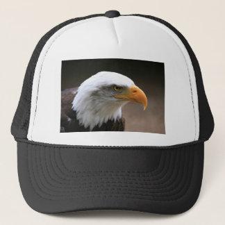 american Bald Eagle Portrait Trucker Hat