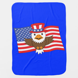 American Bald Eagle Pramblanket