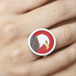 """American Bald Eagle"" Ring"