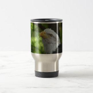 American Bald Eagle Stainless Travel Mug